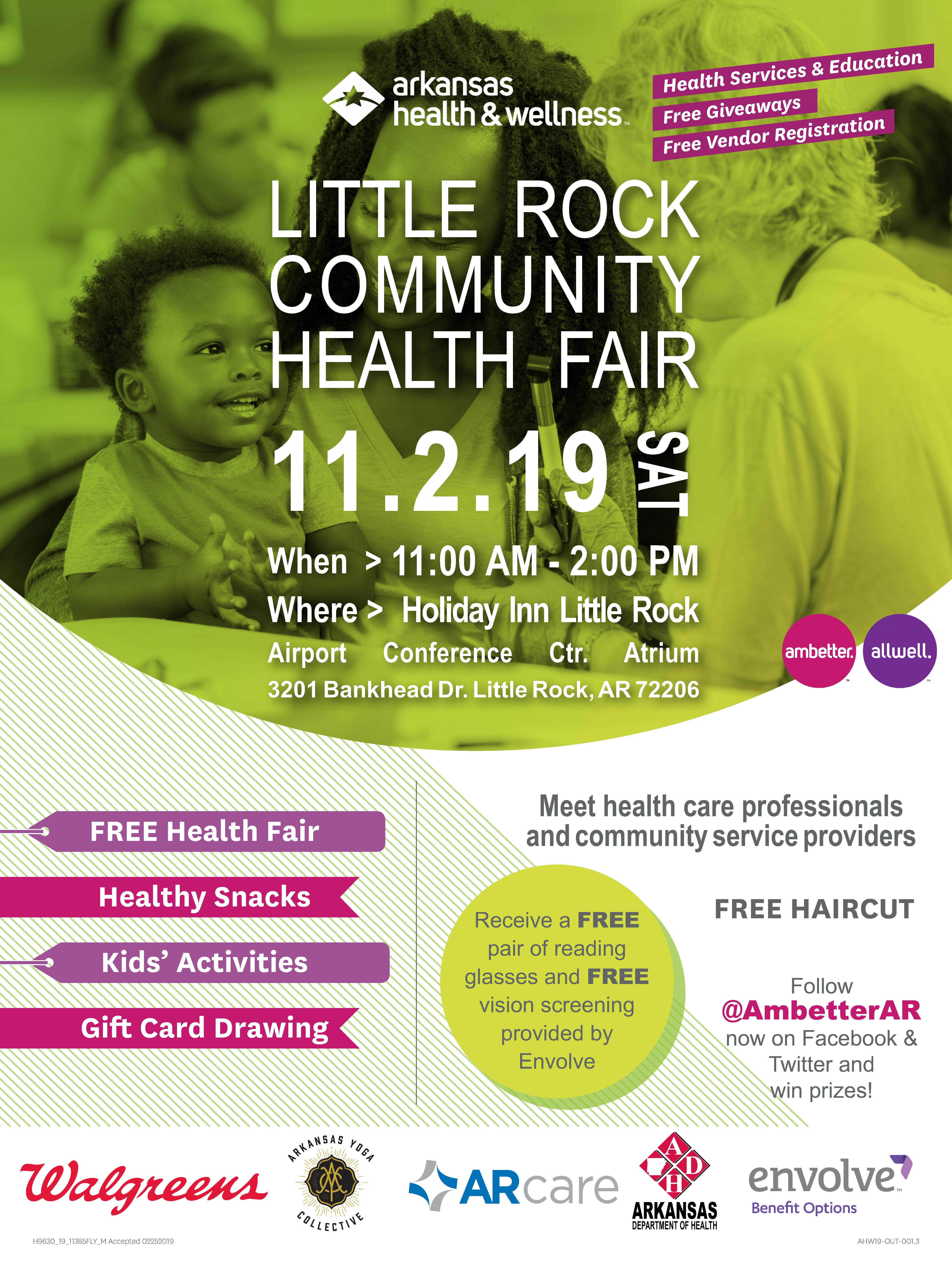 Little Rock Community Health Fair