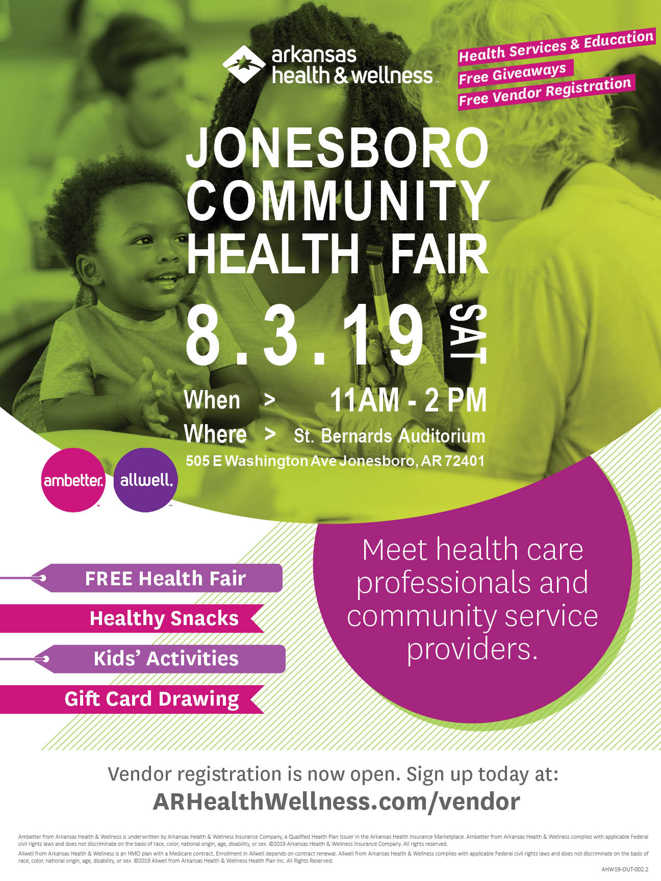 Jonesboro Community Health Fair
